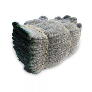 ถุงมือผ้าสีเทา03