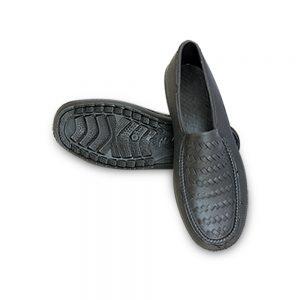 รองเท้าคัชชูไม่ผูกเชือกA999สีดำ