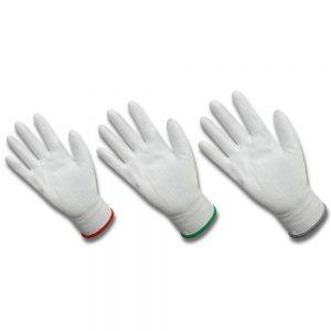 ถุงมือผ้าเคลือบ PU