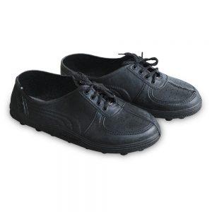 รองเท้าผูกเชือกA222สีดำ