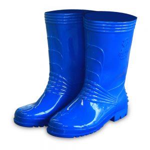 รองเท้าบู๊ทA3330สีน้ำเงิน2