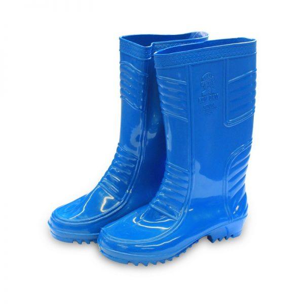 รองเท้าบู๊ทA3500สีน้ำเงิน2
