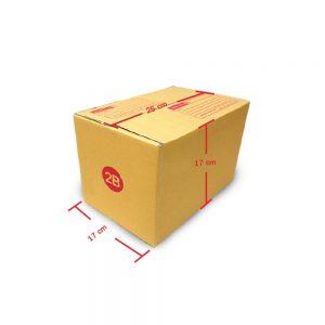 กล่องฝาชน เบอร์ 2B