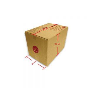 กล่องฝาชน เบอร์ 2C